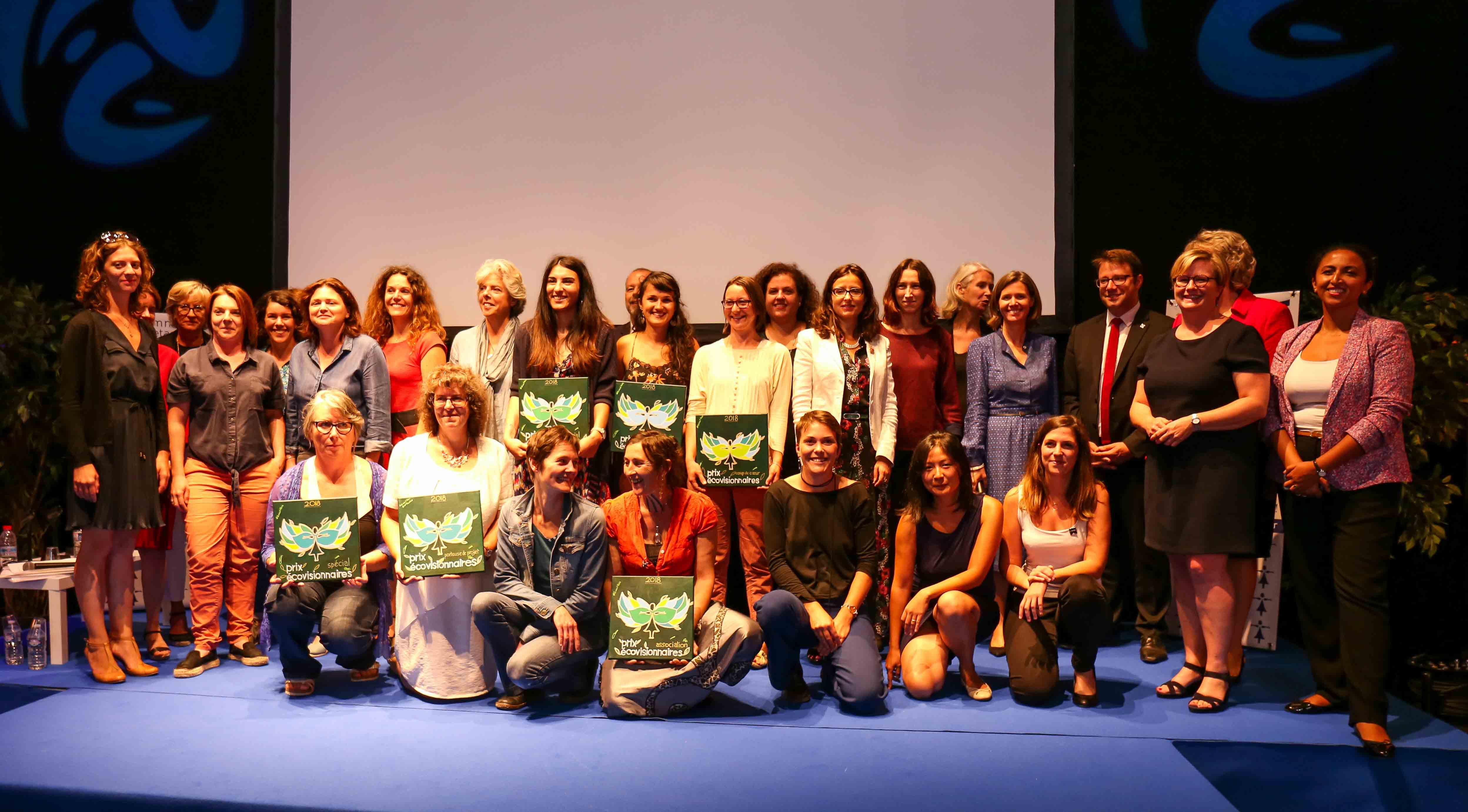 Les lauréates du Prix EcoVisionnaires