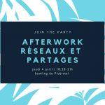 04/04/2019 - Ploermel - Rencontre Afterwork Réseaux & Partages