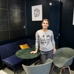 Angélique GROSJEAN, gérante du Cook'in Café à Saint-Malo (35)