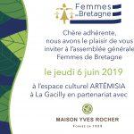 06.06.2019 - La Gacilly - Assemblée Générale Femmes de Bretagne