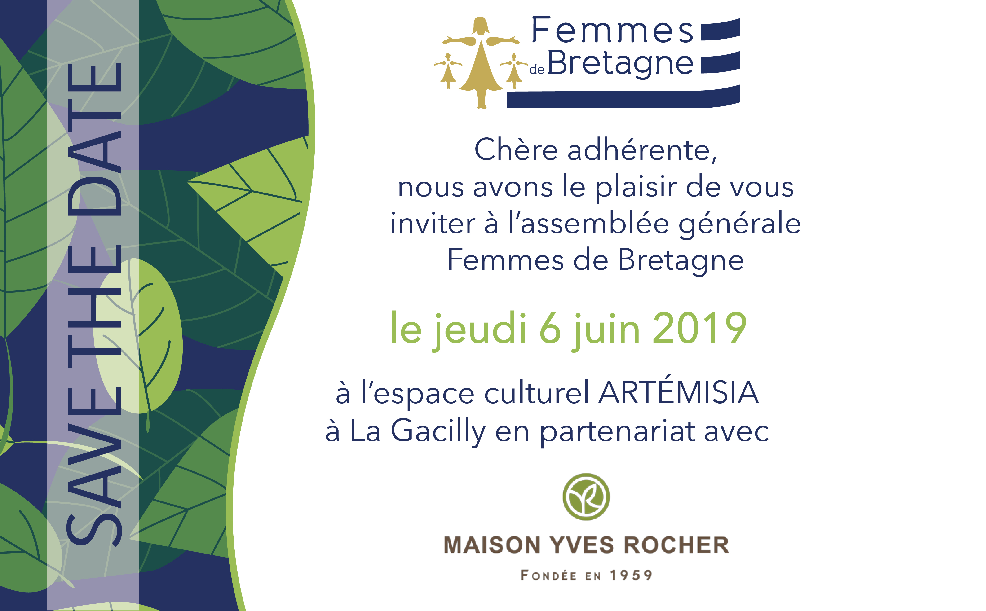 06.06.2019 – La Gacilly – Assemblée Générale Femmes de Bretagne