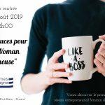 27/08/2019 - Dinard - Rencontre et minis Ateliers - Trucs & Astuces pour Wonder Woman Entrepreneure!