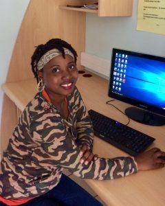 Lovely JEUNE, porteuse du projet Breizh'Event, une application culturelle pour les jeunes en Morbihan (56)