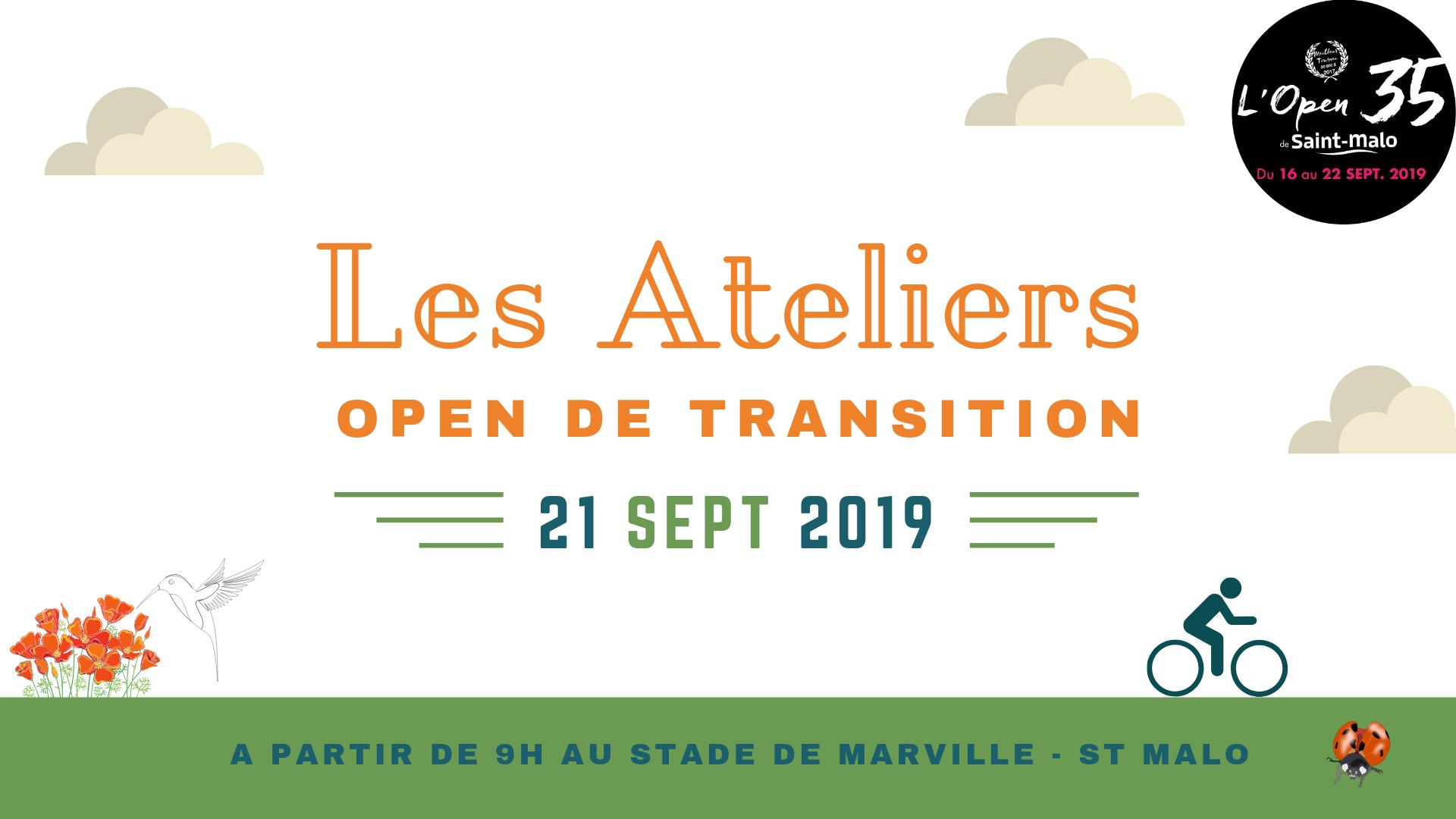 21/09/19 – St Malo – Ateliers Open de la Transition Ecologique et Citoyenne