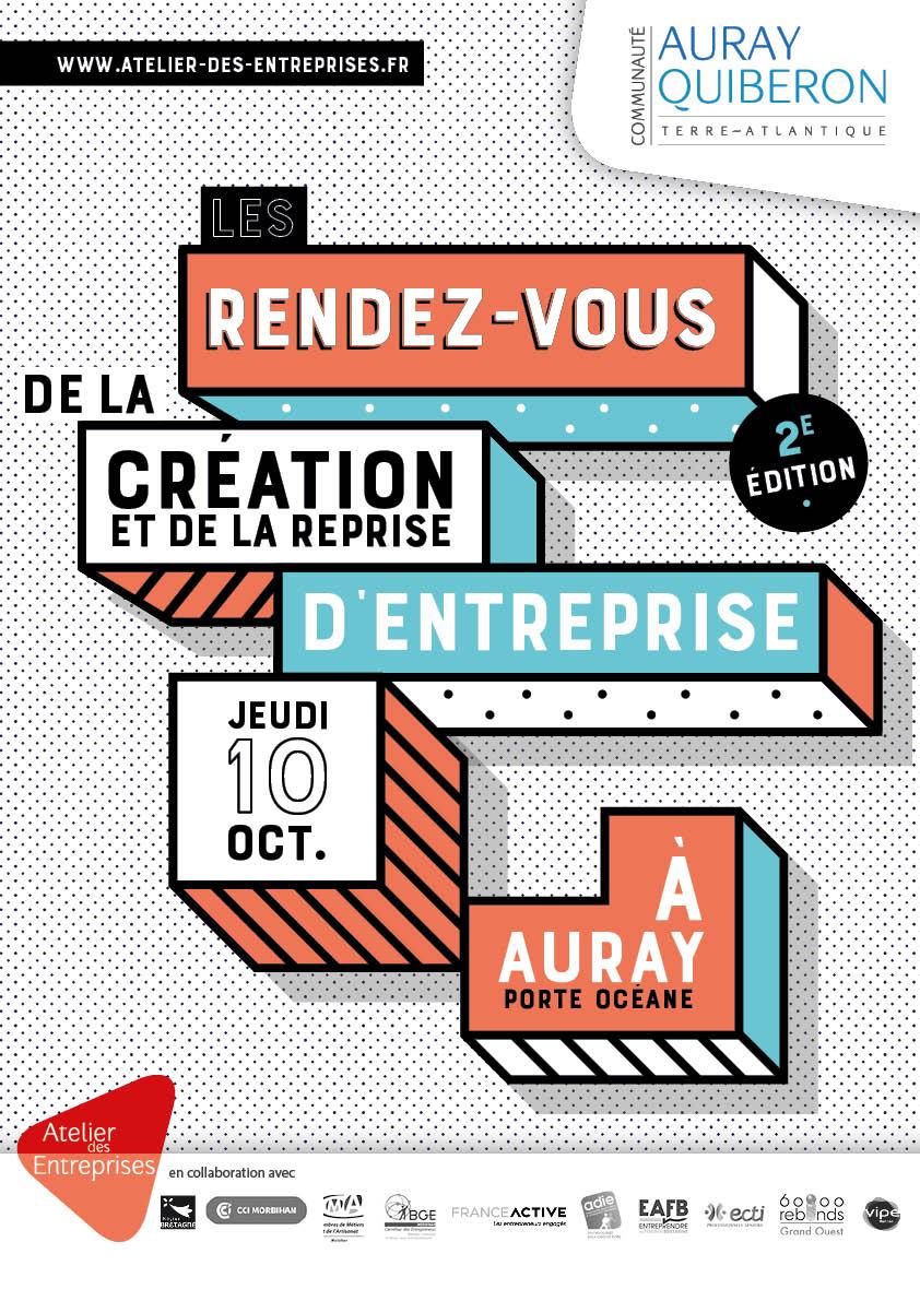 10/10/19-Auray-RDV de la création et reprise d'entreprise