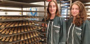 Juliette Iserin et Géraldine Esnous. Flocon, le snacking bon pour la santé (Châteauneuf-du-Faou, 29).
