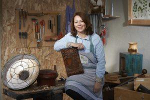 Géraldine Beaumont Spered an Natur, l'atelier du bois