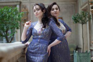 Laura et Medni Arzhieva Créatrices, stylistes et couturières chez Laura & Medni «De par notre indépendance, nous réaliserons nos rêves»