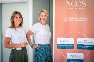 Noémie Guerrin et Estelle Huard NŒS «Entreprendre en 2019,  c'est s'offrir une tribune pour défendre ses valeurs»
