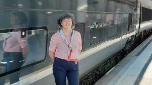 Marie-Laure Le Borloch : de Paris à Brest, de gare en gare