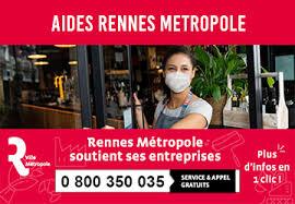 Rennes metropole soutien entreprises covid19